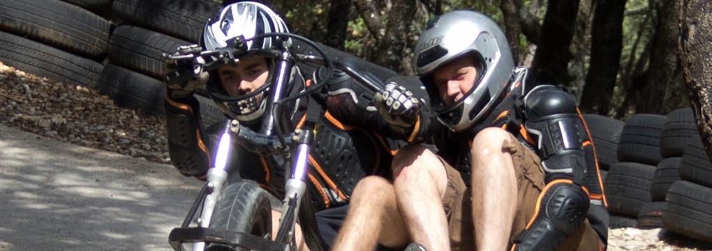 Drift trike double parc de loisirs montpellier au pays des carrioles