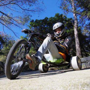 drift-trike au pays des carrioles parc loisir montpellier