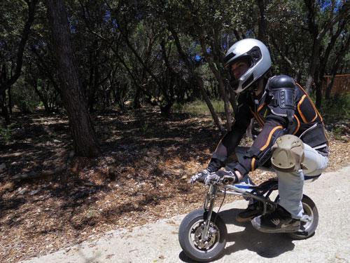 mini-bike au pays des carrioles parc loisir