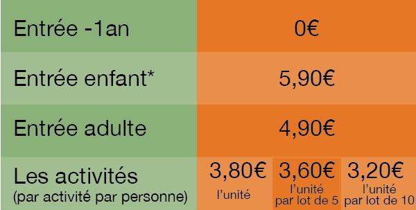 prix parc de jeux montpellier au pays des carrioles