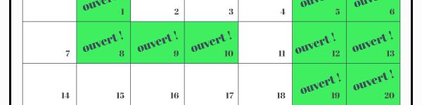 calendrier-jours fériés-mois de mai-aupaysdescarrioles