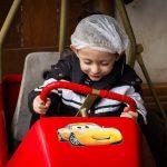 caisse à savon entre 5 ans et 8 ans accompagné quad parc d'activités familles