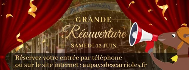 COVID-19_réouverture du parc de loisirs pour les attractions enfants proche de Montpellier et Clermont l'Hérault