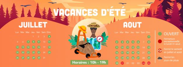 grandes vacances-vacances d'été 2021-parc de loisirs famille-enfants-activités et jeux-aupaysdescarrioles-la Boissière